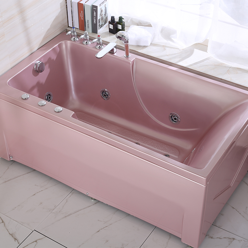 C005 rose gold bathroom bathtub