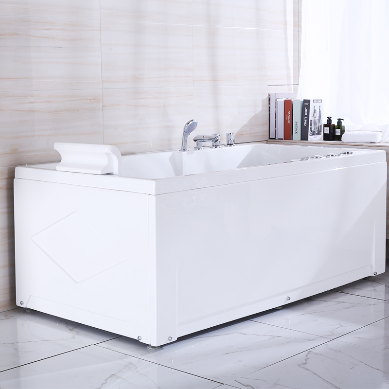 C003-1 white bathroom bathtub