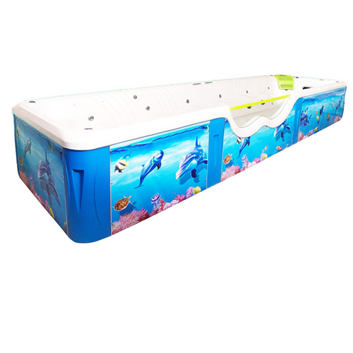 S037 big size acrylic swimming pool